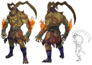 Ifrit artwork for FFVII Remake.png