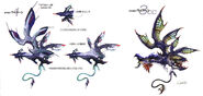 Aerial Enemy Art FFXIII