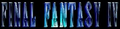 FF4 in-game logo