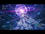 """Ramuh summoned in Final Fantasy VII Remake Intergrade """"Episode INTERmission"""""""