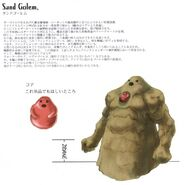 Sand Golem FFIX Art