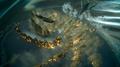 Titan uses Gaias Wrath on Leviathan in FFXV
