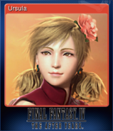 FFIV TAY Steam Card Ursula