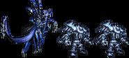 FFRK Shiva & Ice Soldier FFXIV