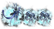 FFRK Ultimate++ Shiva & Ice Soldier FFXIV