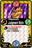 Ramuh Judgment Bolt+