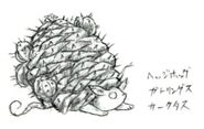 Hedgehog FFV Art