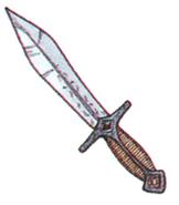 Mythril Knife FFIII Art