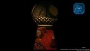 Palmer spied in Honeybee Inn through a key hole from FFVII Remake