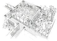 Wutai Godo's House FF7 Art