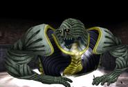 Gargantua appears from FFVIII Remastered