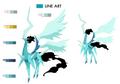 Ixion Zero palette concept for Final Fantasy Unlimited