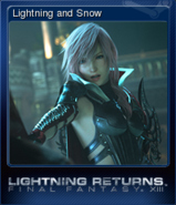 LRFFXIII Steam Card Lightning and Snow