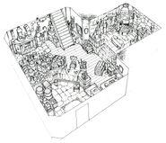 Nibelheim FF7 Art 1