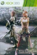 FFXIII-2 Asia Edição Standard Xbox 360 Capa