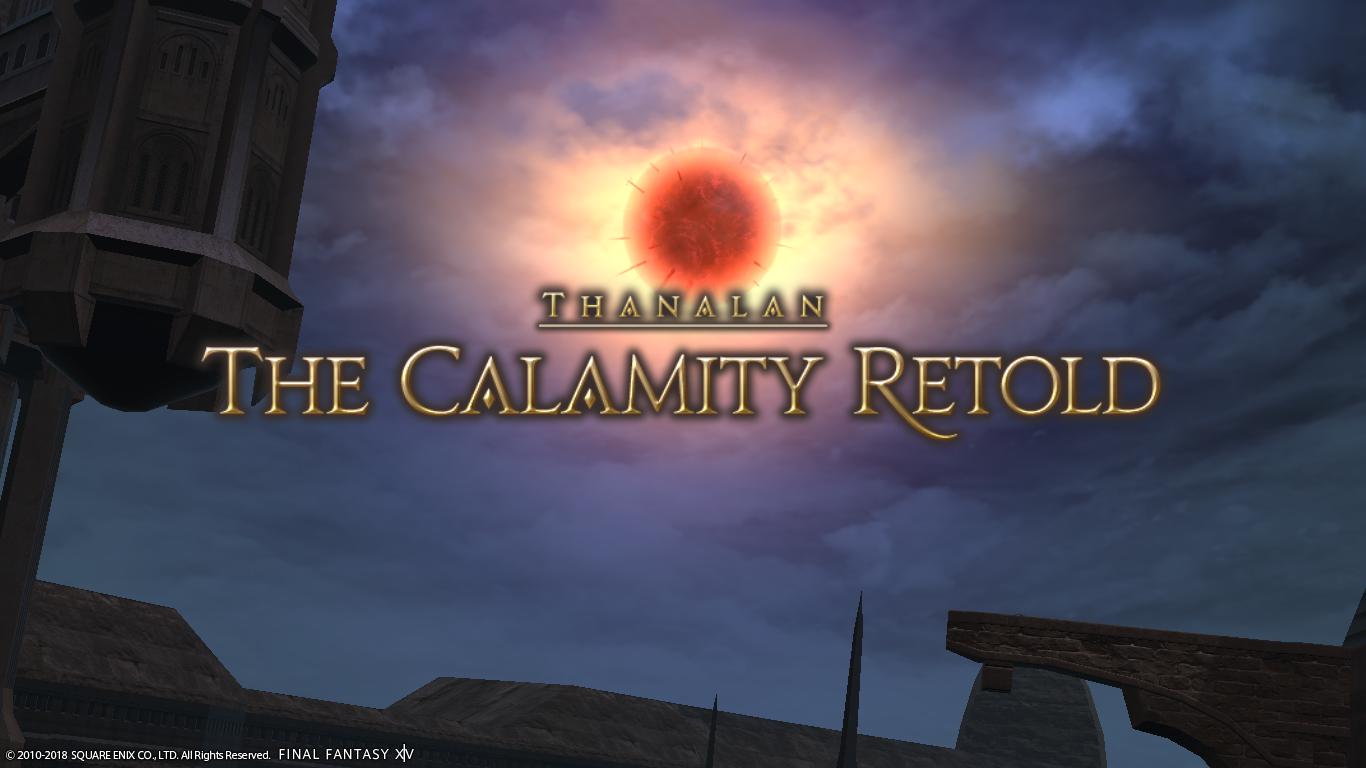 Calamity Retold