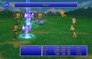Firion using Ultima I from FFII Pixel Remaster