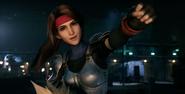 Jessie gestures in FFVII Remake