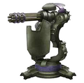 Sentry Gun Prototype artwork for Final Fantasy VII Remake