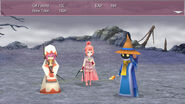 FFIV TAY Steam Victory Pose White Mage and Black Mage