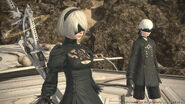FFXIV 2B and 9S
