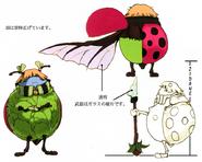 Ladybird Freindly FFIX Artwork