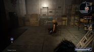 Zegnautus Keep room with fake Prompto in FFXV