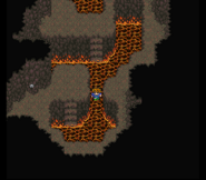 FFV SNES Lava Damage Floor
