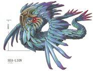 Sea Lion FFIX Art
