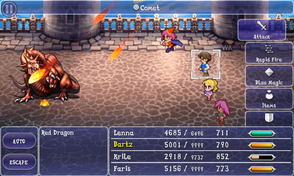 Cometa (Final Fantasy V)