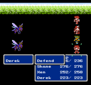 FFIII NES Defend