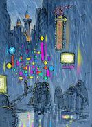 Final Fantasy Unlimited preliminary illustration 1