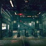 Sector 1 Reactor Train Station artwork for FFVII Remake.jpg
