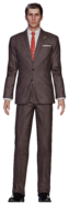 Shinra Middle Manager from FFVII Remake render