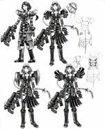Concept FFX-2 Job Alchemist