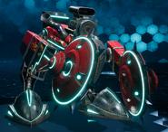 Jury-Rigged Cutter from FFVII Remake Enemy Intel