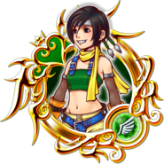 KHUX Illustrated Yuffie 6★ Medal