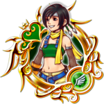 KHUX Illustrated Yuffie 6★ Medal.png