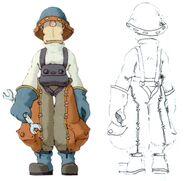 Lindblum Mechanic 2 FFIX Art