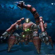 Scorpion Sentinel in Enemy Intel from FFVII Remake
