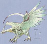 Silver Dragon FFIX Art