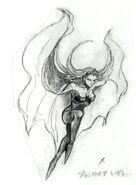 Vampire Lady FFV Art (unused)