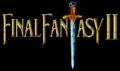 FF2 SNES in-game logo