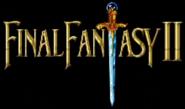 FF2 SNES in-game logo