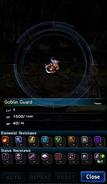 FFBE Goblin Guard Analyze