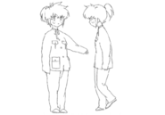 Lisa child concept for Final Fantasy Unlimited