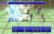 Maria using Blizzard VII from FFII Pixel Remaster