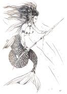 Mermaid FFIII Artwork