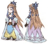 Sara FFIII DS Yoshida Art