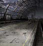 FFBE Desolate Station BG